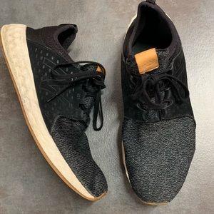 New Balance Black Knit Running Sneakers 13